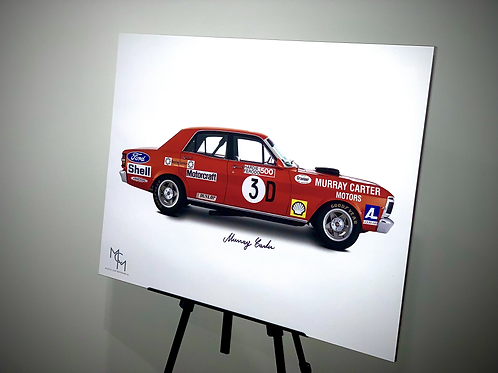 SIGNED by Murray Carter 1971 Ford XY GT HO Phase III