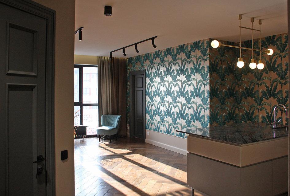 Sunday12 Interior design project city chic living room