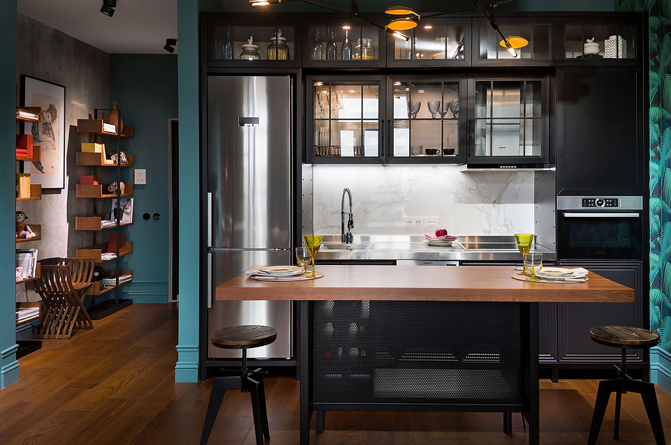Sunday12 Interior интерьер інтер'єр дизайн проект квартира гостинная кухня апартаменты all we need is green Киев Central park