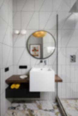Sunday12 Interior design project Textural Boom bathroom apartment Jack House Kyiv