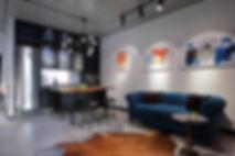 Sunday12 Interior design project smart loft living room apartment Central Park Kyiv