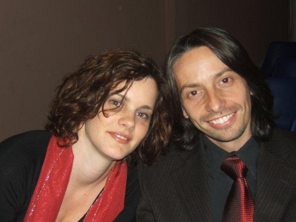 Laura y Hugo Giardina.