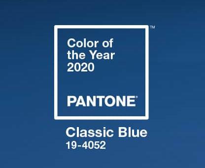 Colore dell'anno 2020 CLASSIC BLUE
