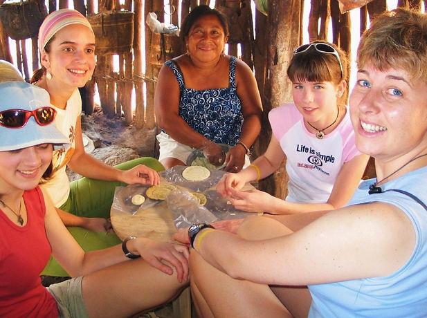 Maya Cooking Class Ek Balam Eco Hotel Yucatan