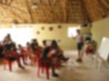Classes at Genesis Ek Balam Eco Hotel Yucatan