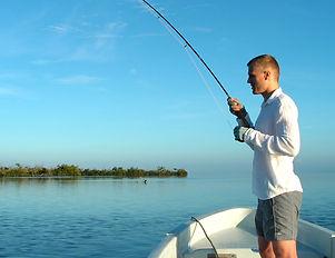 Fishing Rio Lagartos Genesis Ek Balam Eco Hotel Yucatan