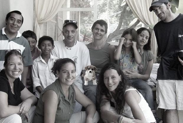 Guests at Genesis Ek Balam Eco Hotel Yucatan