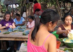 Maya Cooking Class Genesis Ek Balam Eco Hotel Yucatan