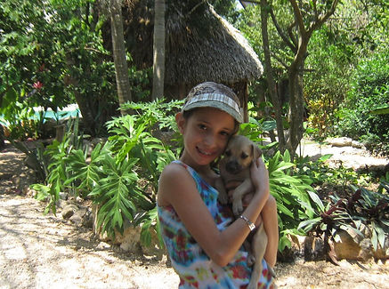 Street Dog Adoptions Ek Balam Eco Hotel Yucatan