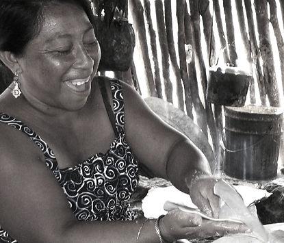 Maya Cooking Ek Balam Eco Hotel Yucatan