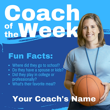 Coach of the Week