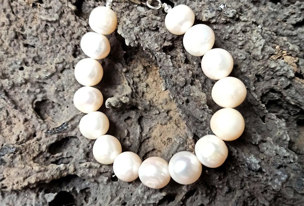 Armbånd med store perler