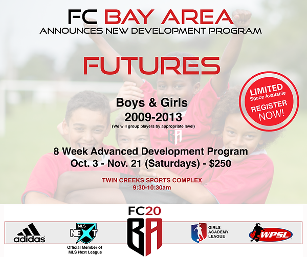 soccer clinic san jose, bay area