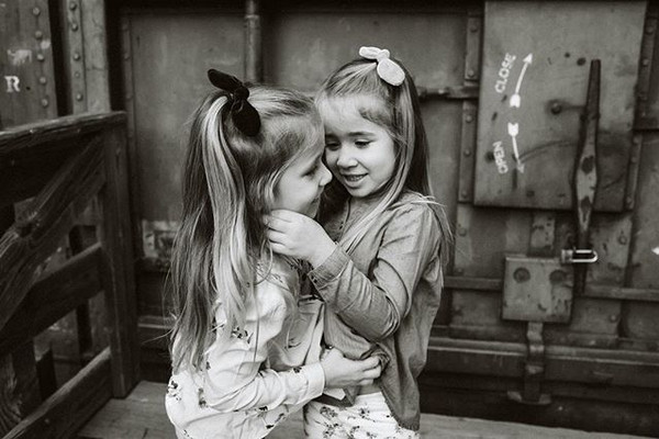 I love photographing twins, it's not onl