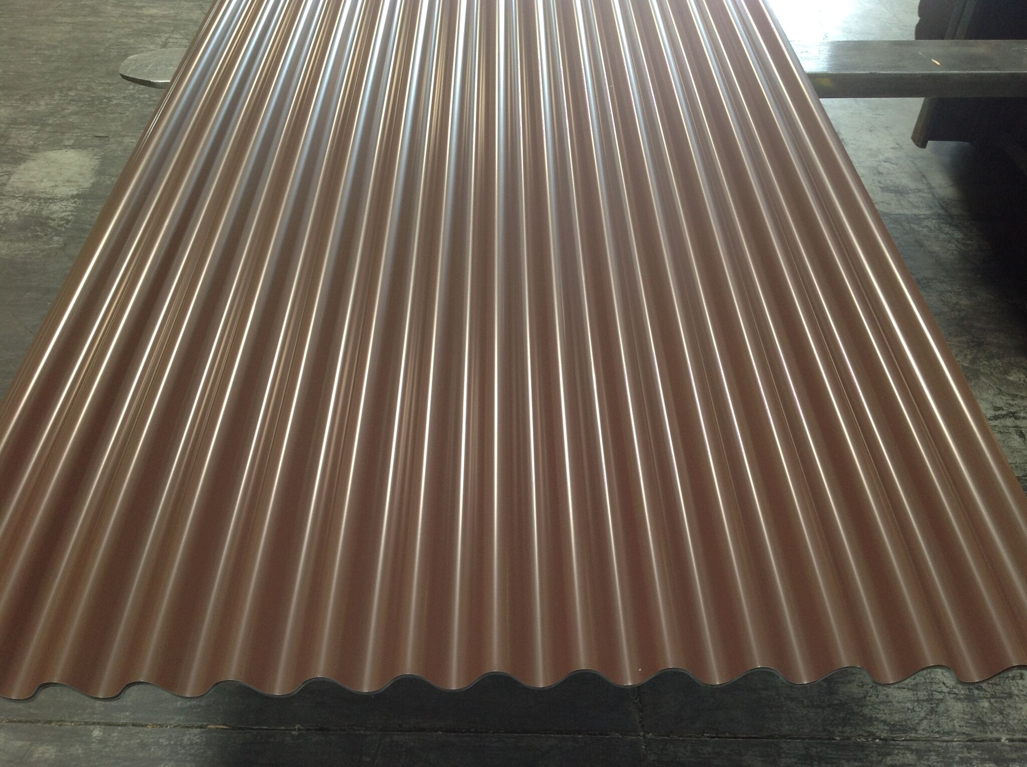 7-8 corrugated brown