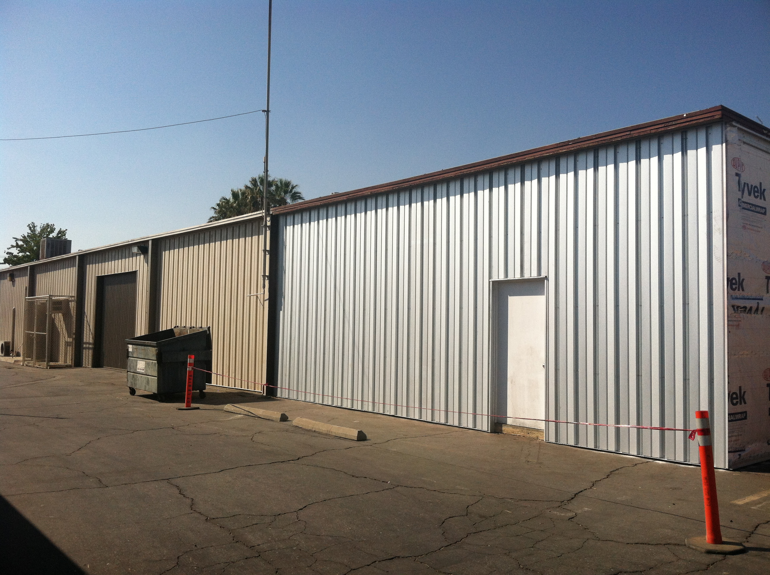 Siding Bldg V East2