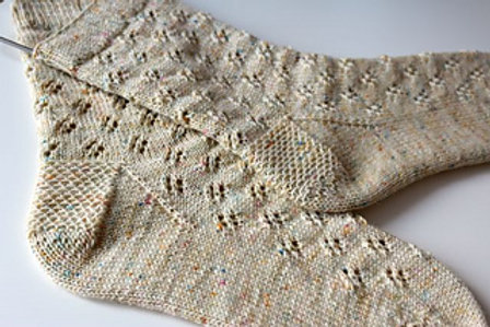 Wildflowers & Honeycomb Socks