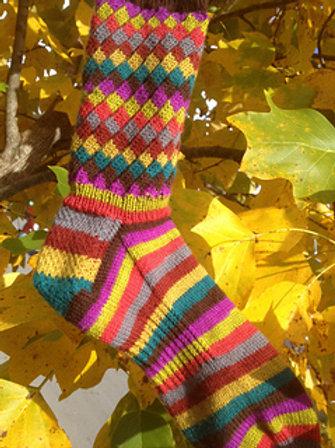 Fruit Stripe Gum Socks