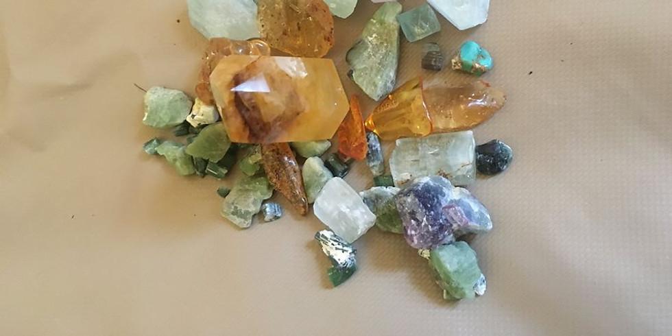 -geannuleerd-    Mineralen ervaren
