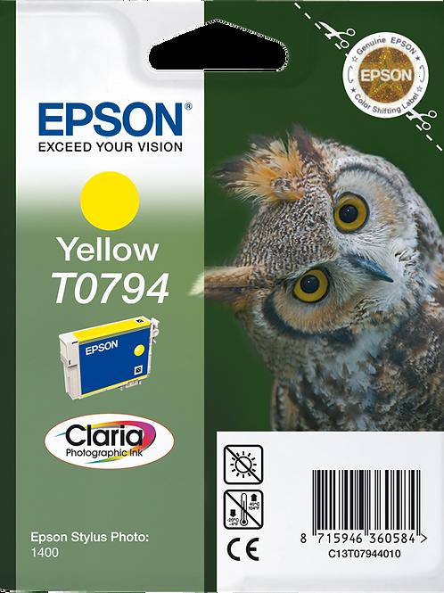 CARTUCCIA EPSON T0794 GIALLO
