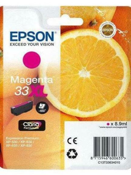 CARTUCCIA EPSON 33XL MAGENTA
