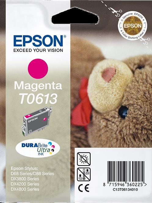 CARTUCCIA EPSON T0613 MAGENTA