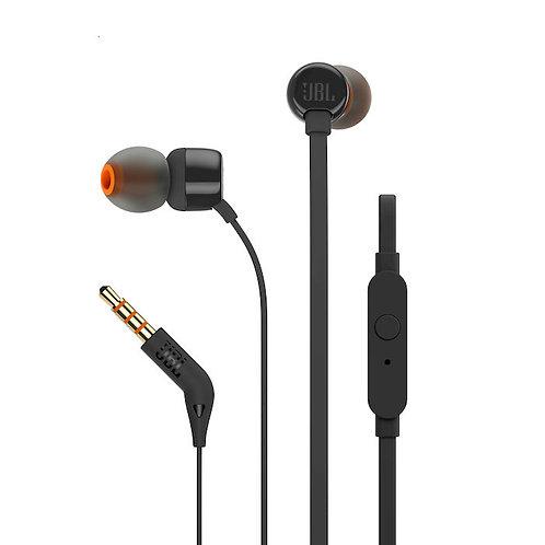 JBL T110 IN EAR CON MICR. NERO