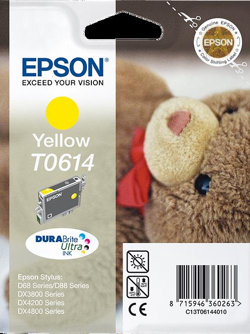 CARTUCCIA EPSON T0614 GIALLO