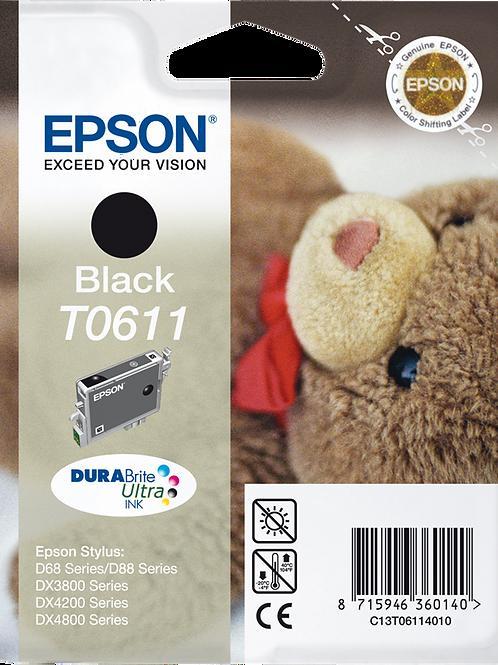 CARTUCCIA EPSON T0611 NERO