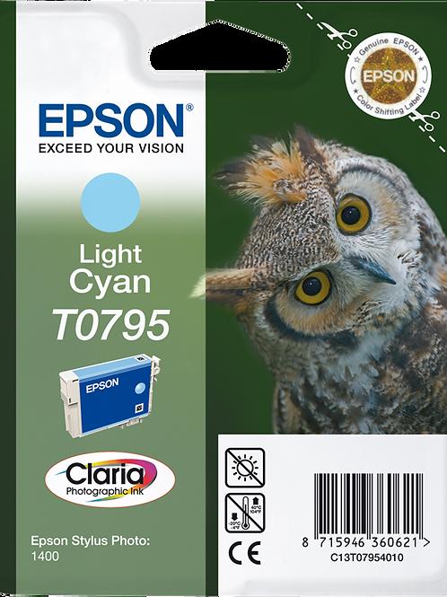 CARTUCCIA EPSON T0795 CIANO CHI.BLI