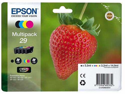 CARTUCCIA EPSON FRAGOLA MULTIPACK
