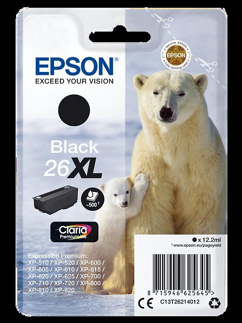 CARTUCCIA EPSON 26XL ORSO NERO