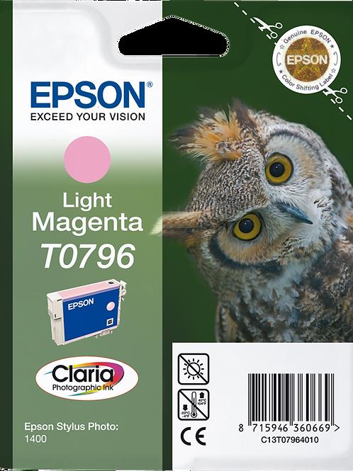CARTUCCIA EPSON T0796 MAGENTA CHIAR