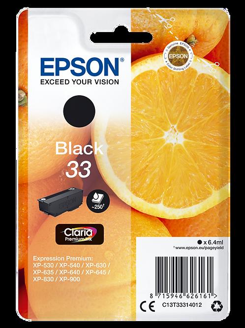 CARTUCCIA EPSON 33 ARANCIA NERO