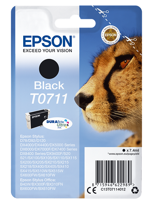 CARTUCCIA DI INCHIOSTRO EPSON NERO 7,4 ml