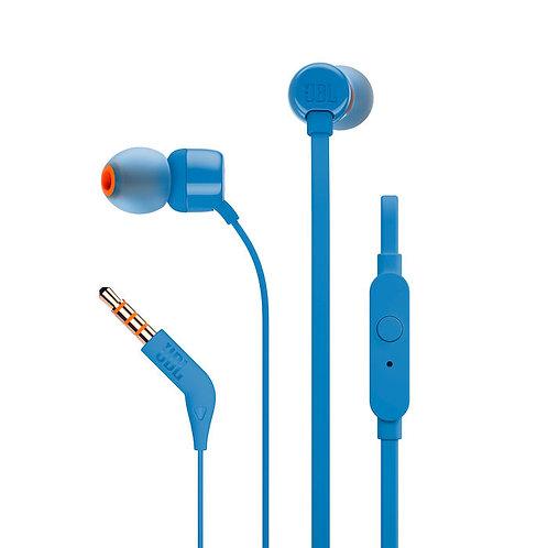 JBL T110 IN EAR CON MICR. BLU