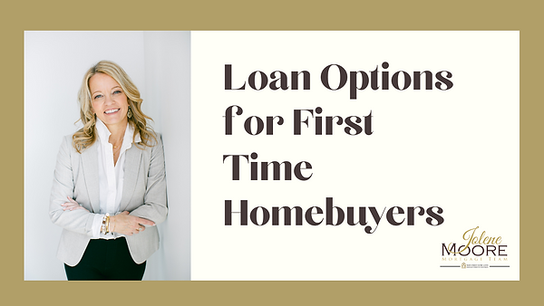 loan options for first time homebuyers.p