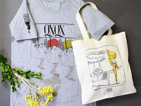 「アリスとチェシャ猫」のバッグと「QXQXちゃん」絵柄のオリジナルTシャツ、ネット初登場!
