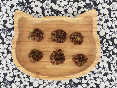 Avocado-quinoa balls