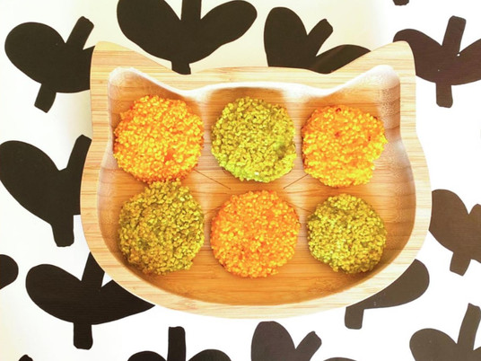 Semolina-vegetable fingerfood