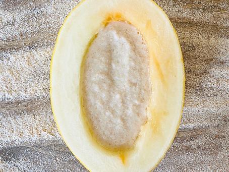 Honeydew-Almond milk-oat