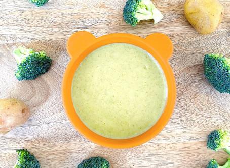 Brocoli-potato puree