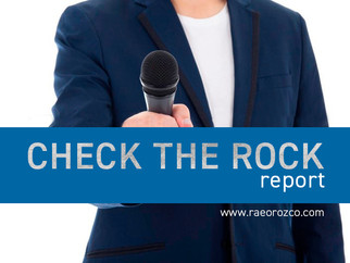 CHECK THE ROCK REPORT