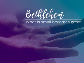 WHAT IS SMALL BECOMES GREAT