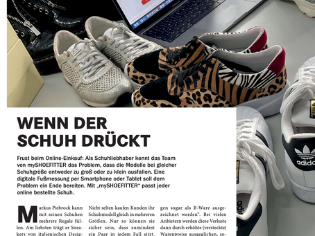 We are featured in the new Hammmagazin 🚀