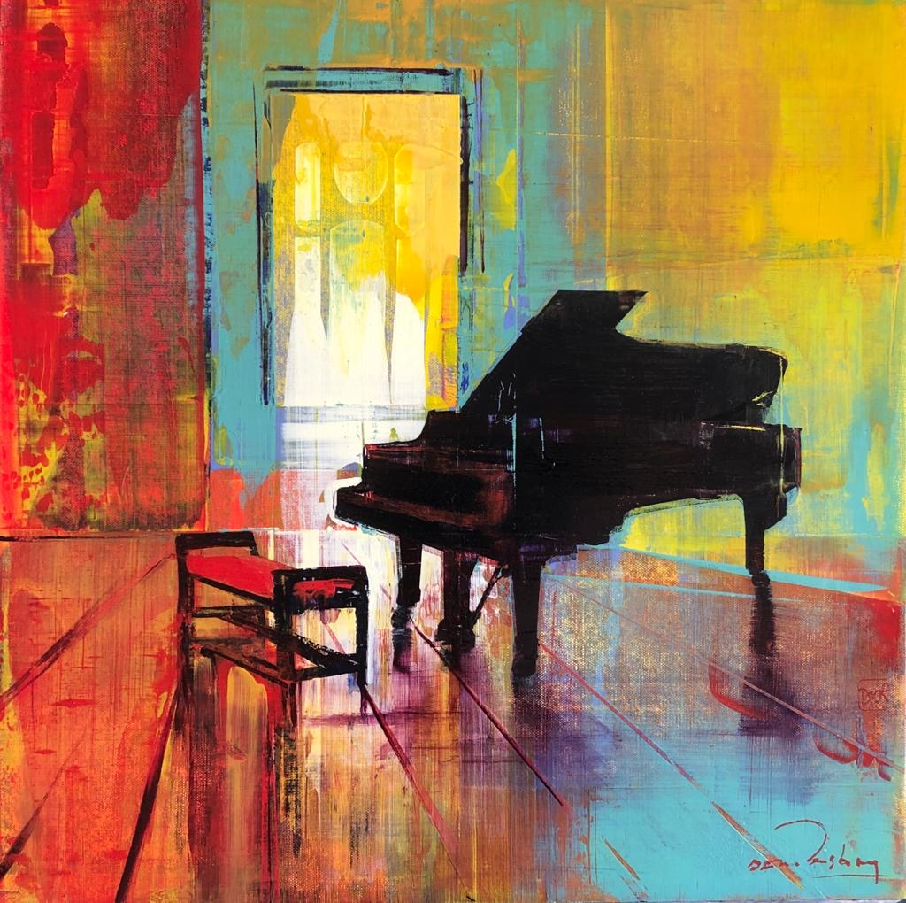 Empty Rooms - Piano