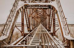 Henderson Bridge Close-Up - Feb 2021