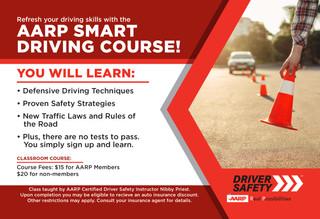 AARP Smart Driving Course