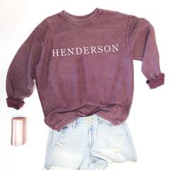 Henderson Corded Crew - V2