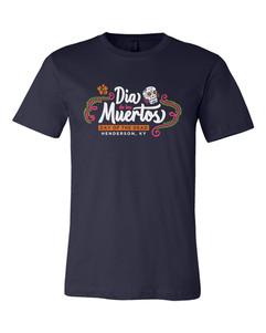 Dia De Los Muertos - Navy